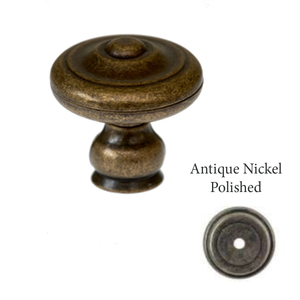 Cupboard Door Knob - 34mm X 34mm