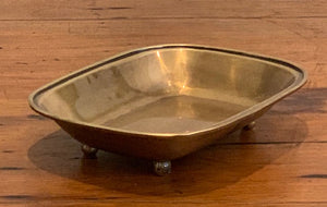 Large Soap Dish Brass