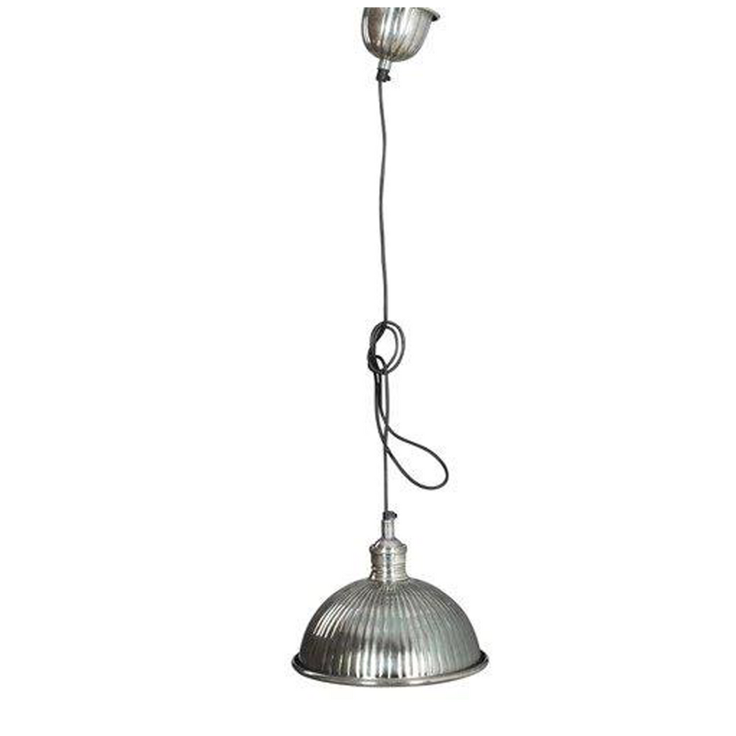 Pewter Ceiling Mounted Light Fitting