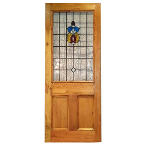 New Internal Door with Stained Glass