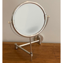 Load image into Gallery viewer, Pewter Plain Shaving Mirror