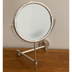 Pewter Plain Shaving Mirror