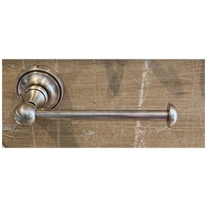 Pewter Raised Round Toilet Roll Holder or Spare