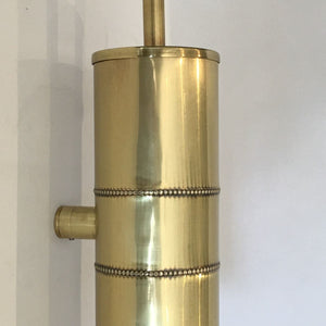 Toilet Brush Wall Mounted Brass