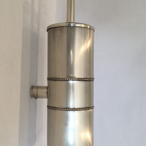 Pewter Wall Mounted Toilet Brush