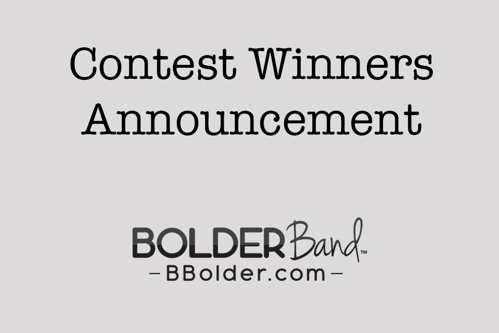 Contest Winners Announcement!