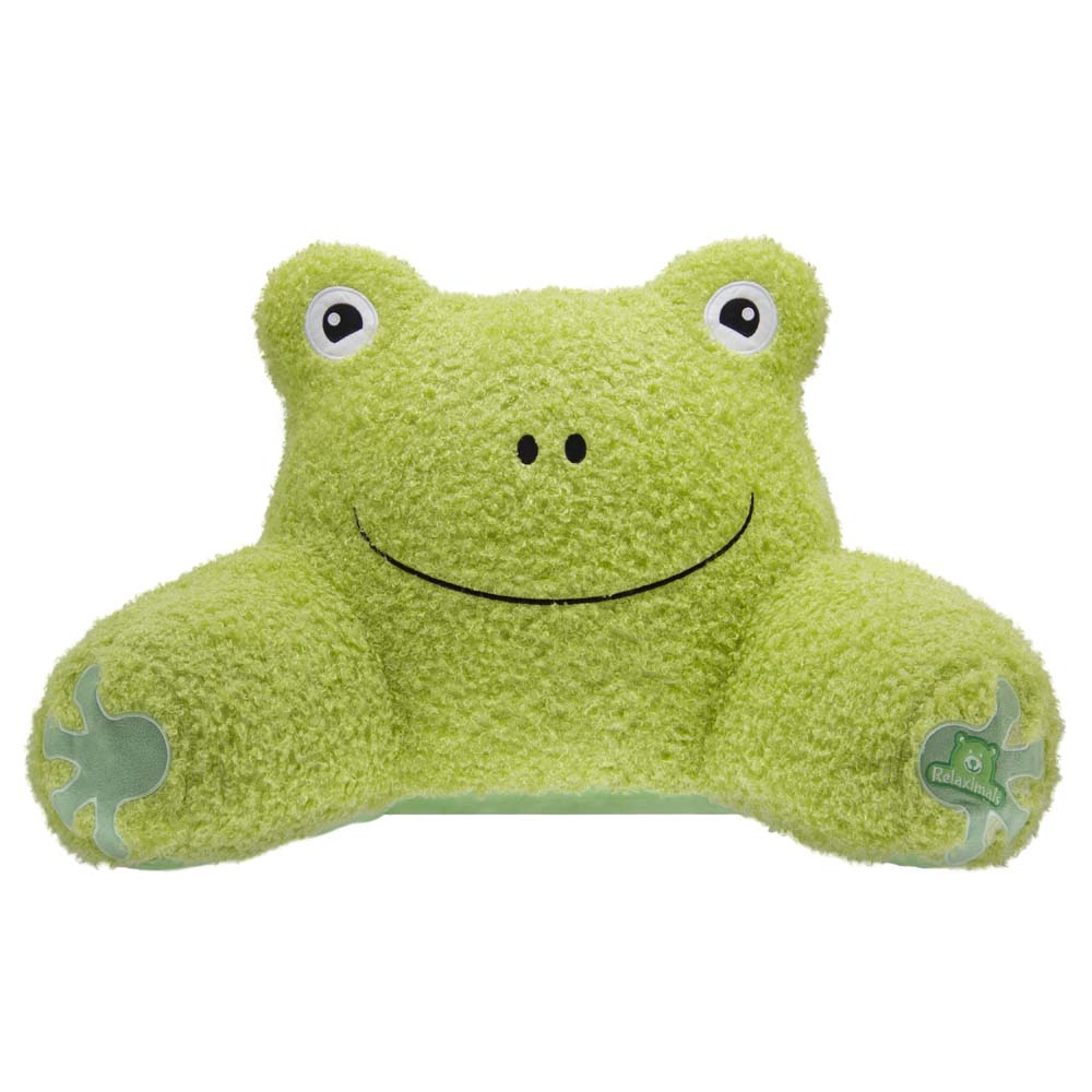 Relaximals Backrest Pillow - Frog