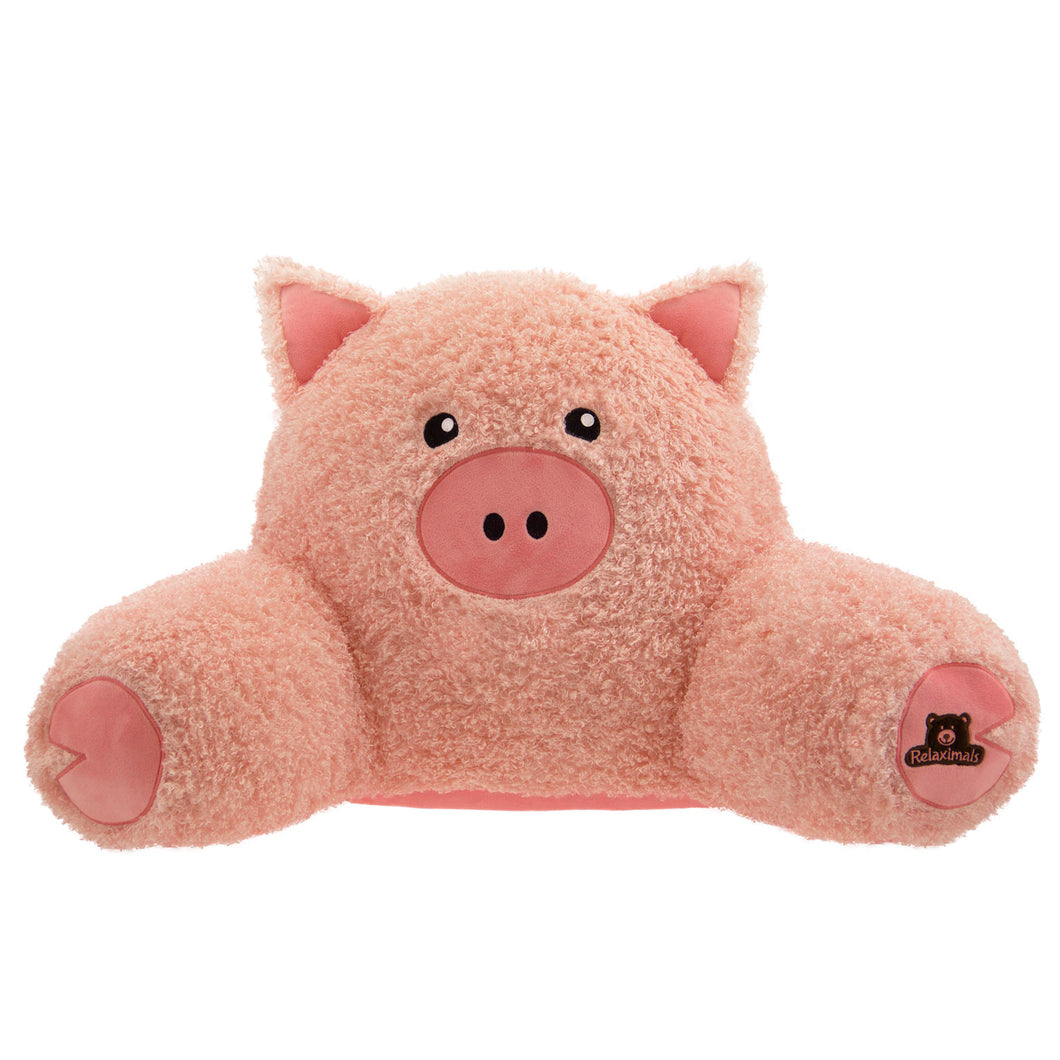 Relaximals Backrest Pillow - Pig