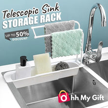 Load image into Gallery viewer, DecoSink® - Telescopic Sink Storage Rack