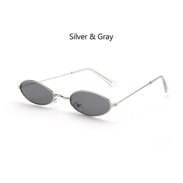 KattLovers® OASIS · Retro Small Oval Sunglasses