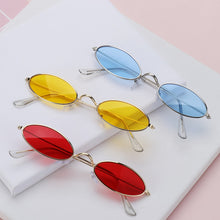 Load image into Gallery viewer, KattLovers® OASIS · Retro Small Oval Sunglasses