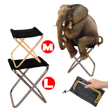 "Load image into Gallery viewer, Folding Pocket Portable Chair ""SMALLY"""