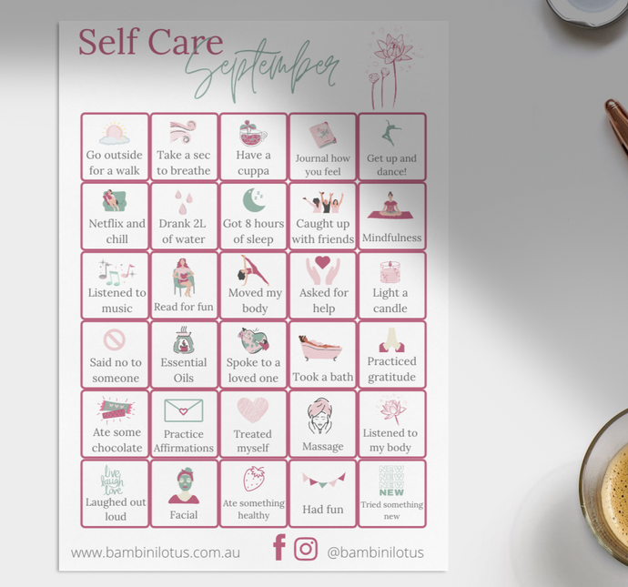 Self Care September
