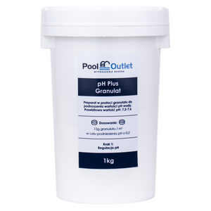Regulator pH Plus 1KG - Pool Outlet