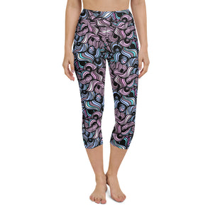 Laurë High Waist Capri Yoga by adaneth