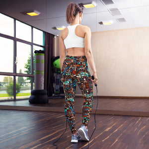 Alma High Waist Yoga Legging by adaneth