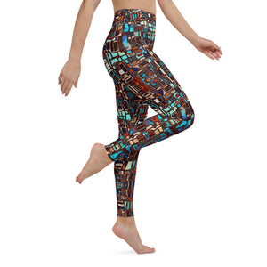 Alma High Waisted Yoga Legging by adaneth