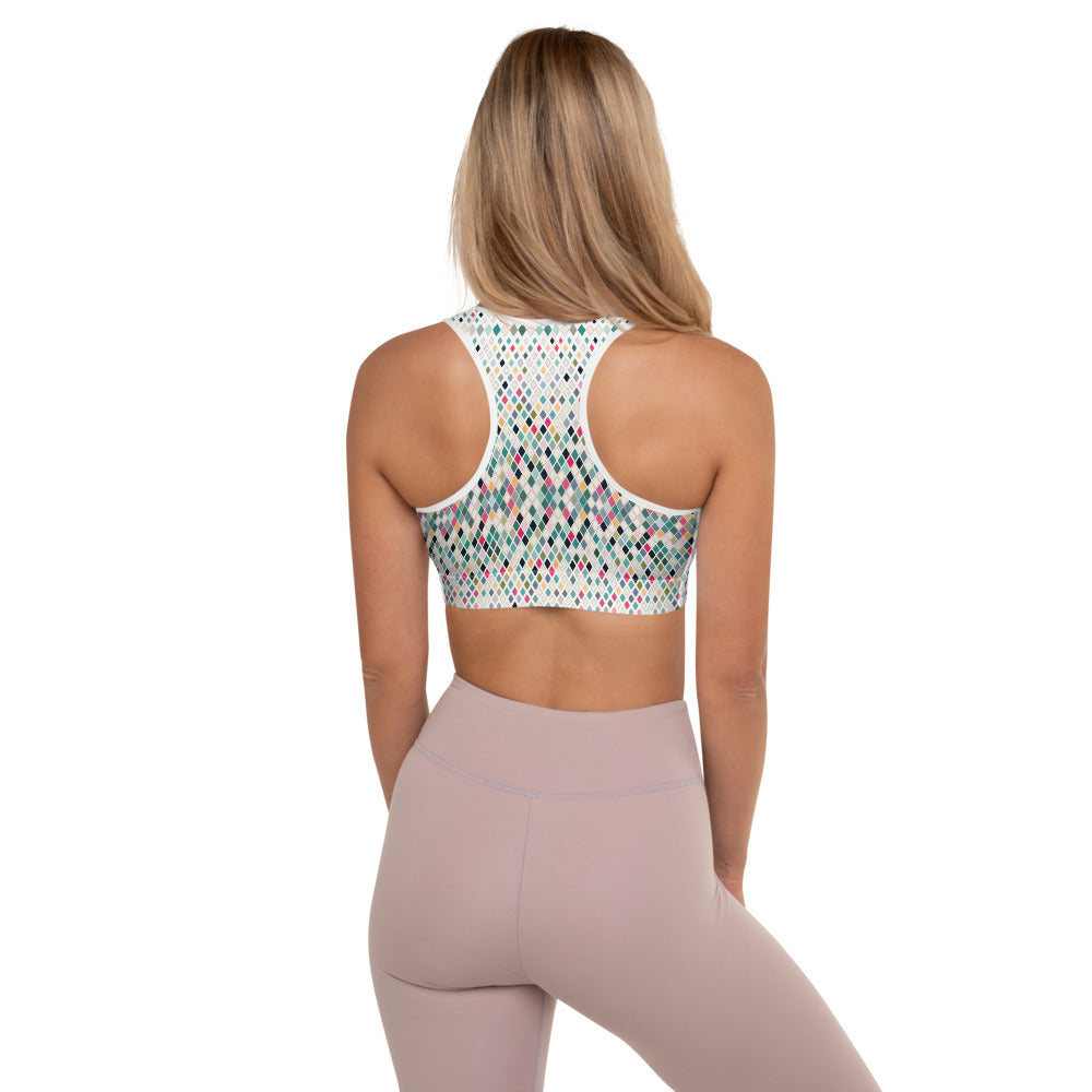 Bennas Padded Sports Bra by adaneth