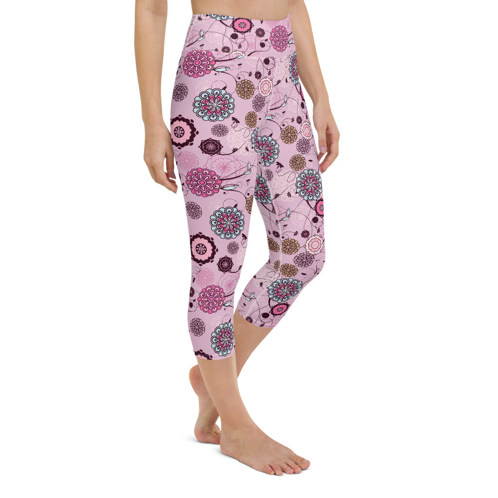 Calima High Waist Capri Yoga by adaneth