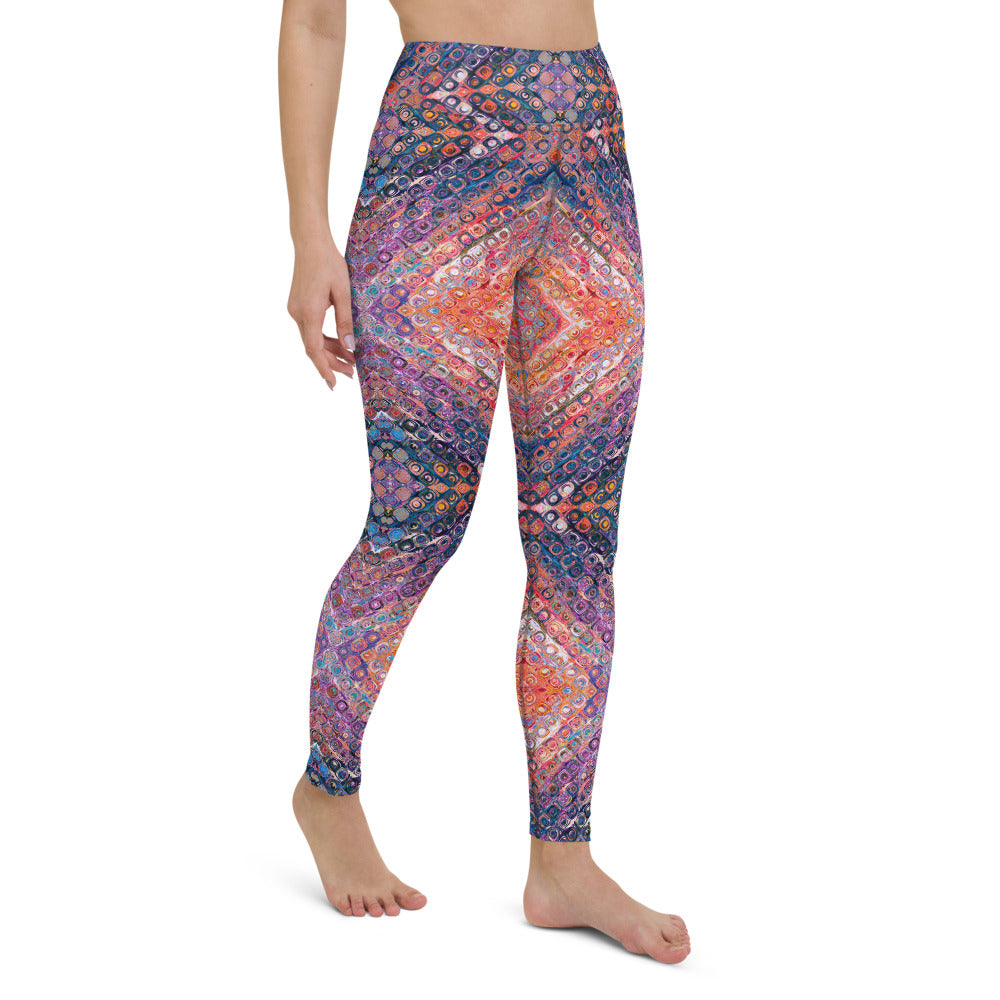Danni High Waisted Yoga Legging by adaneth