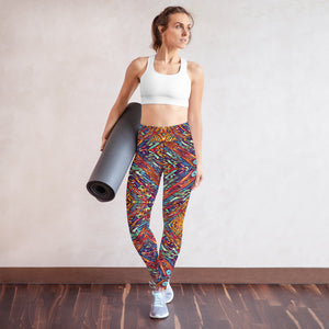 Galina High Waist Yoga Legging by adaneth