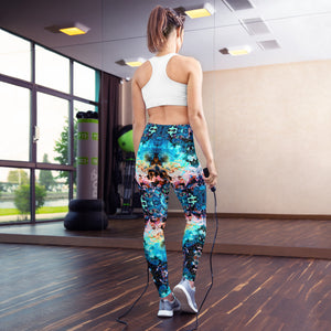 Lóte High Waisted Yoga Legging by adaneth
