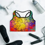 Remmen Padded Sports Bra by adaneth