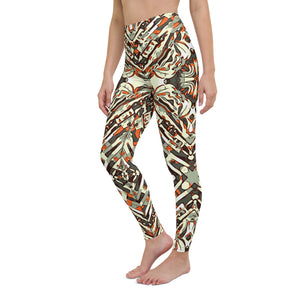 Ronna High Waist Yoga Legging by adaneth