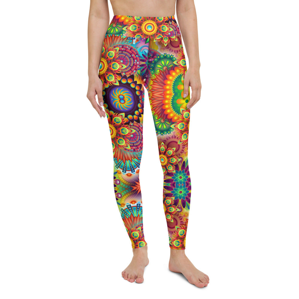 Varni High Waisted Yoga Legging by adaneth