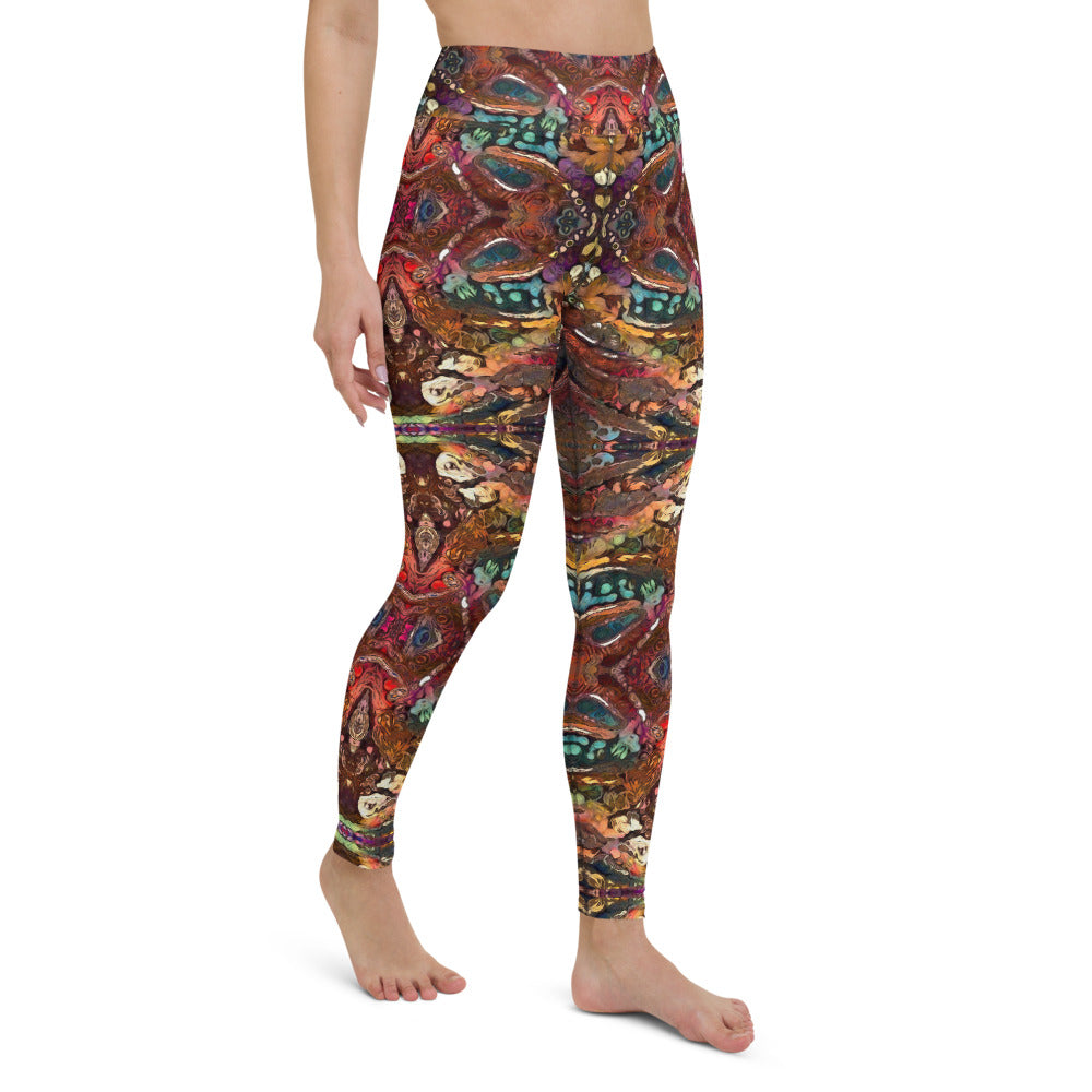 Escë High Waist Yoga Legging by adaneth