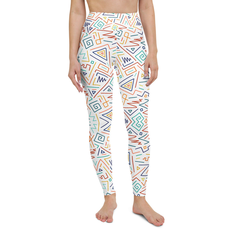 Bess High Waist Yoga Legging by adaneth
