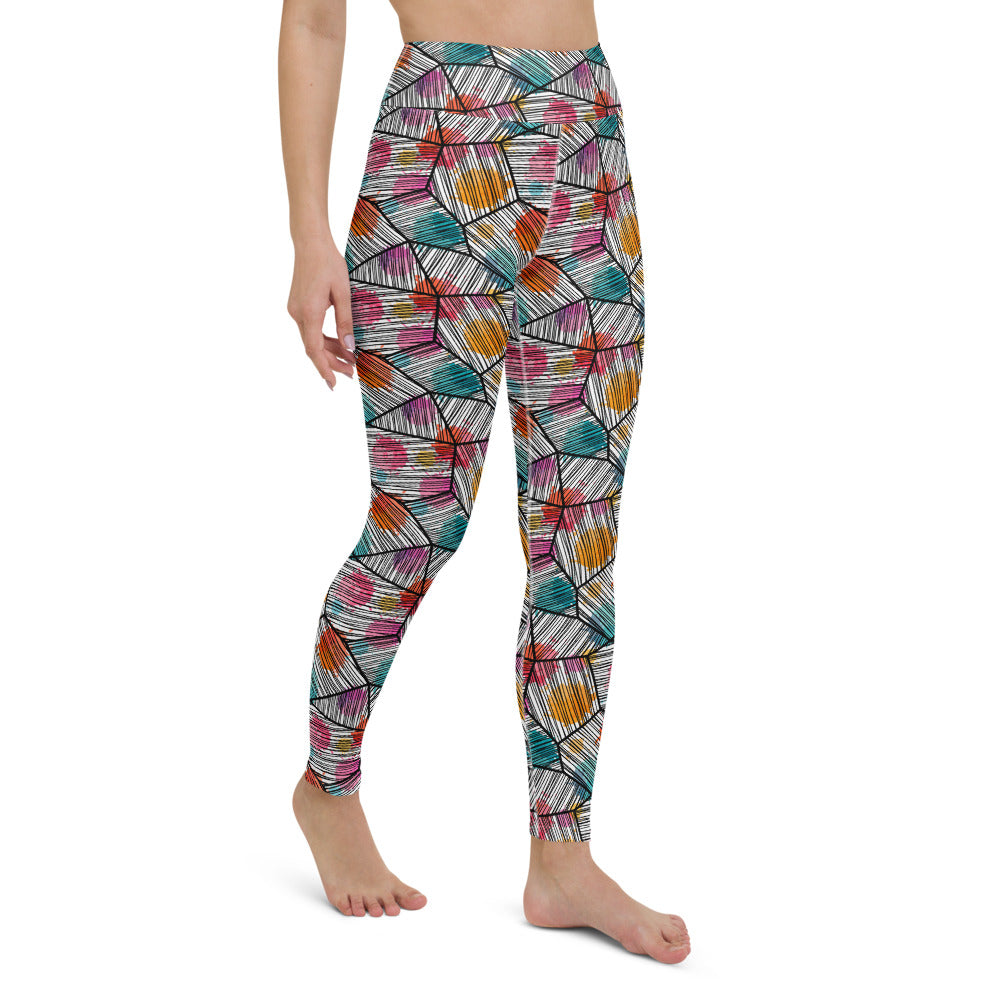 Natse High Waist Yoga Legging by adaneth