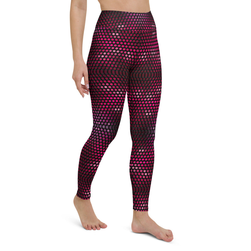 Sirilla-Caran High Waisted Yoga Legging by adaneth