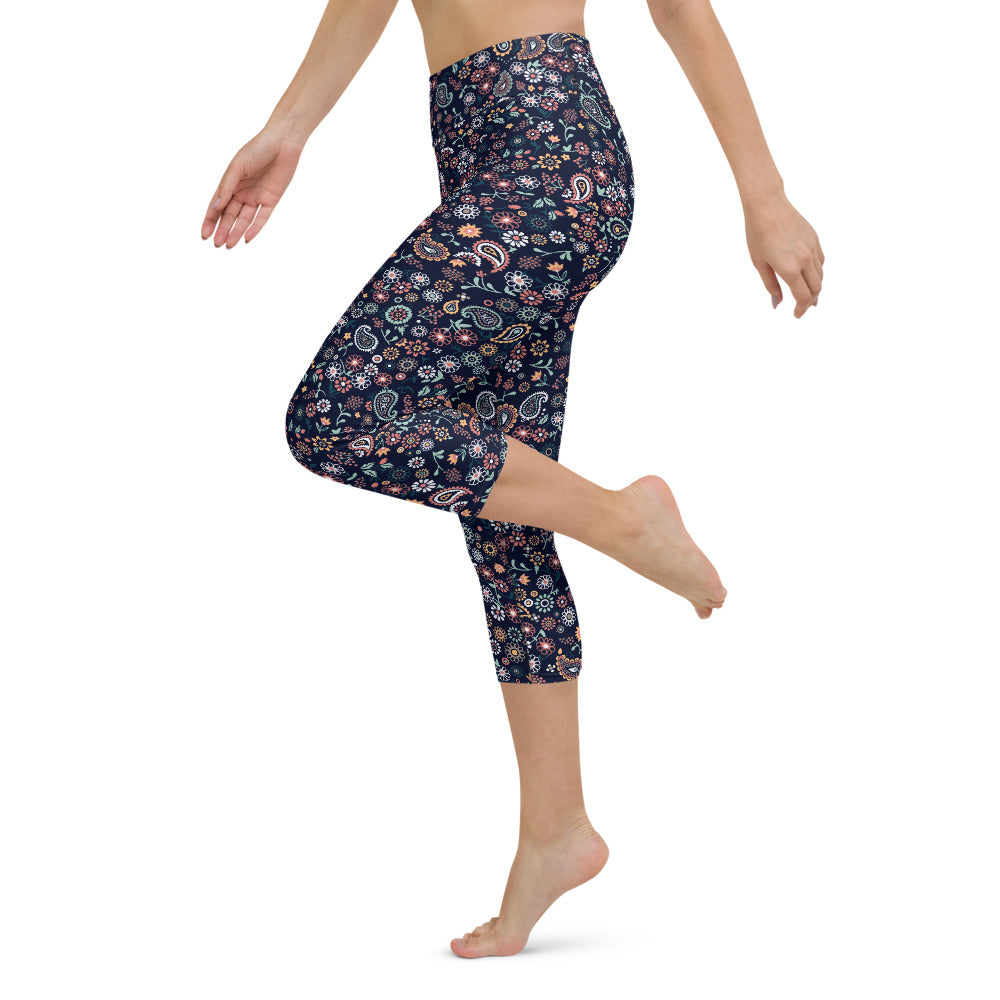 Elanor High Waist Capri Yoga by adaneth