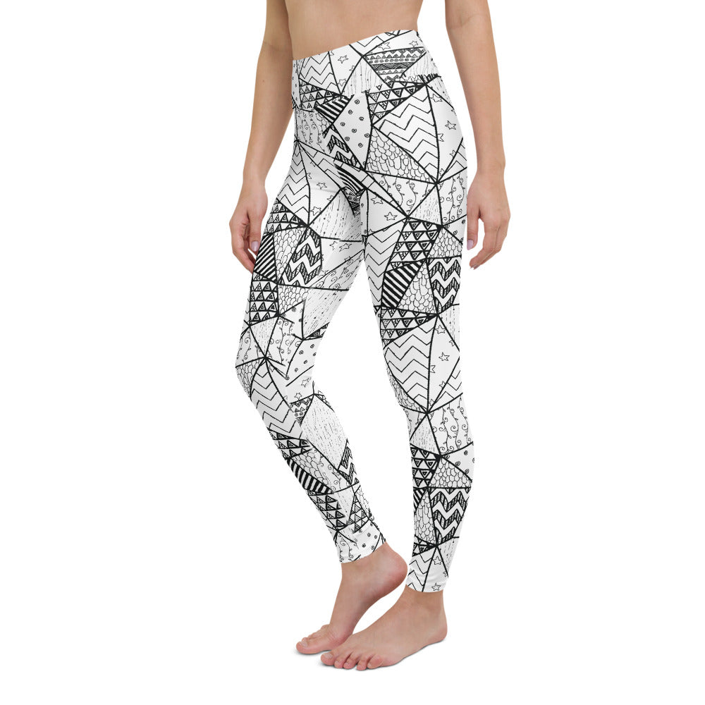 Kali-Fá High Waist Yoga Legging by adaneth