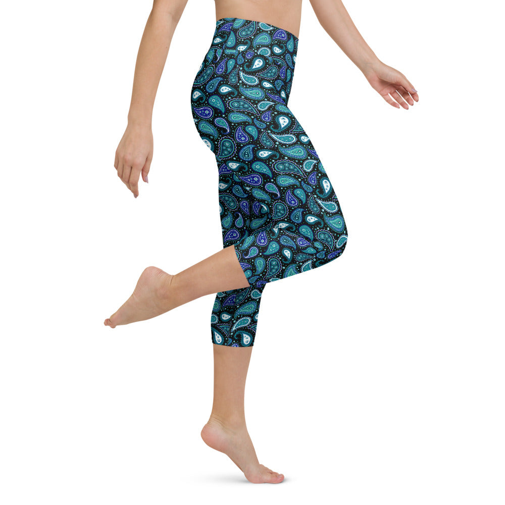 Malina High Waist Capri Yoga by adaneth