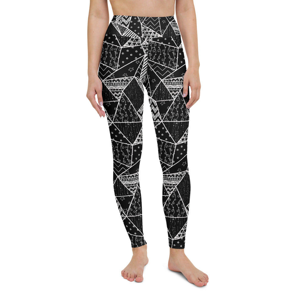 Kali High Waisted Yoga Legging by adaneth