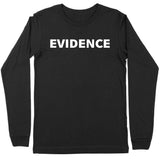 Evidence By the Numbers Long Sleeve Tee