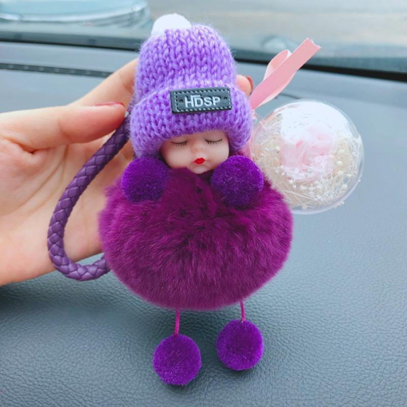 Glowsky™ Cute simulation plush squint doll