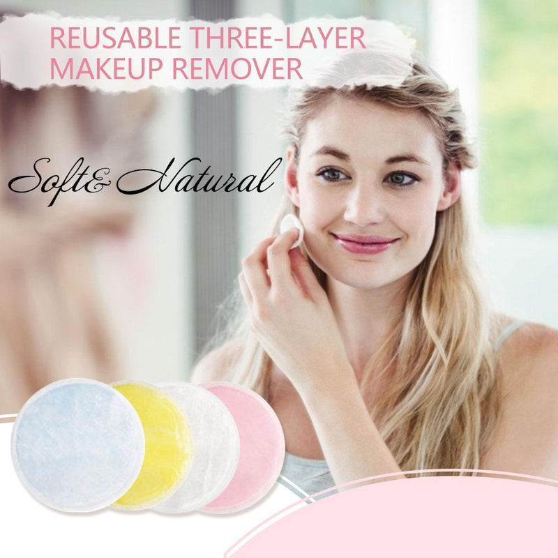 Reusable Three-layer Makeup Remover