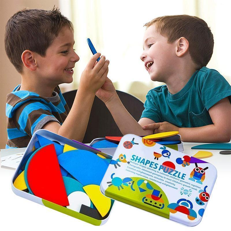 Glowsky™ Educational Toy—Shape Puzzle