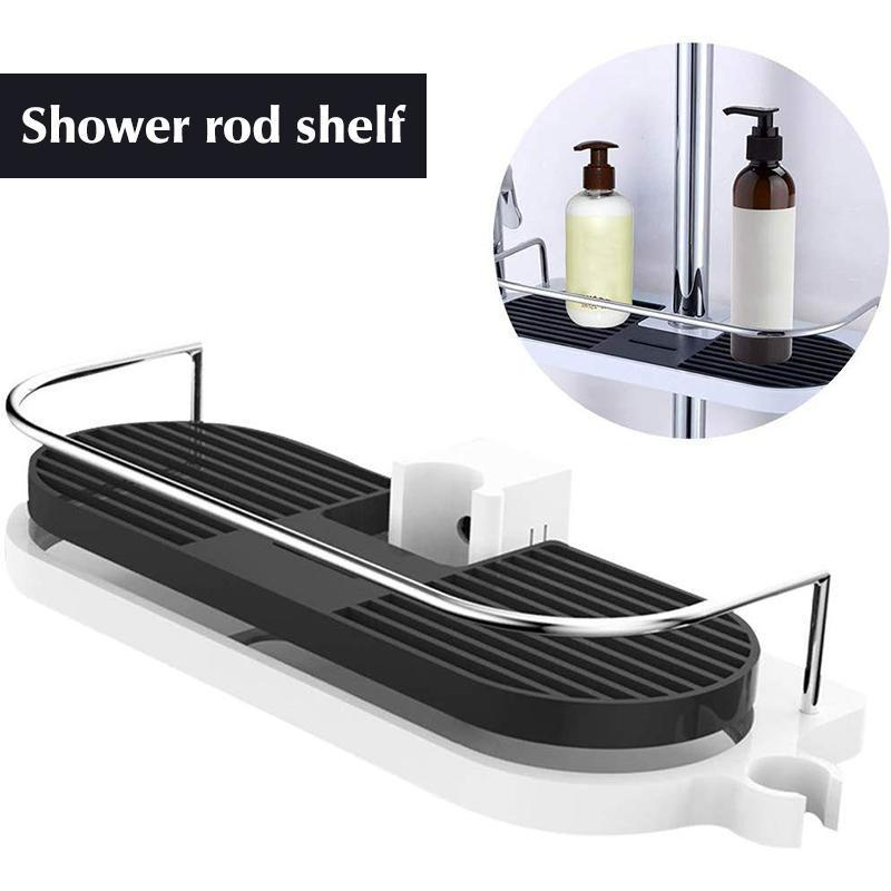 Multifunctional Shower Lift Bar Storage Rack