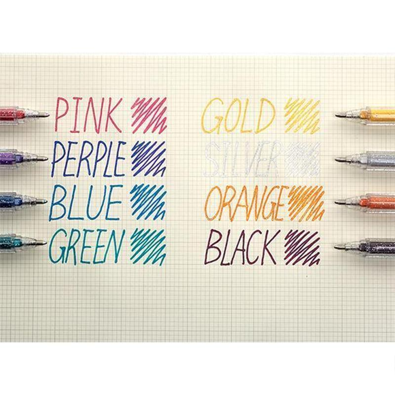 Juice Color Gelly Roll Gel Pens- Blingbling Sparkling