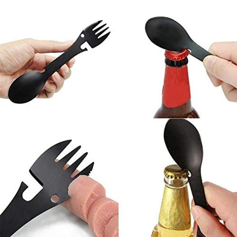 Glowsky™ The Trek Tool - 5 in 1 Tactical Spork