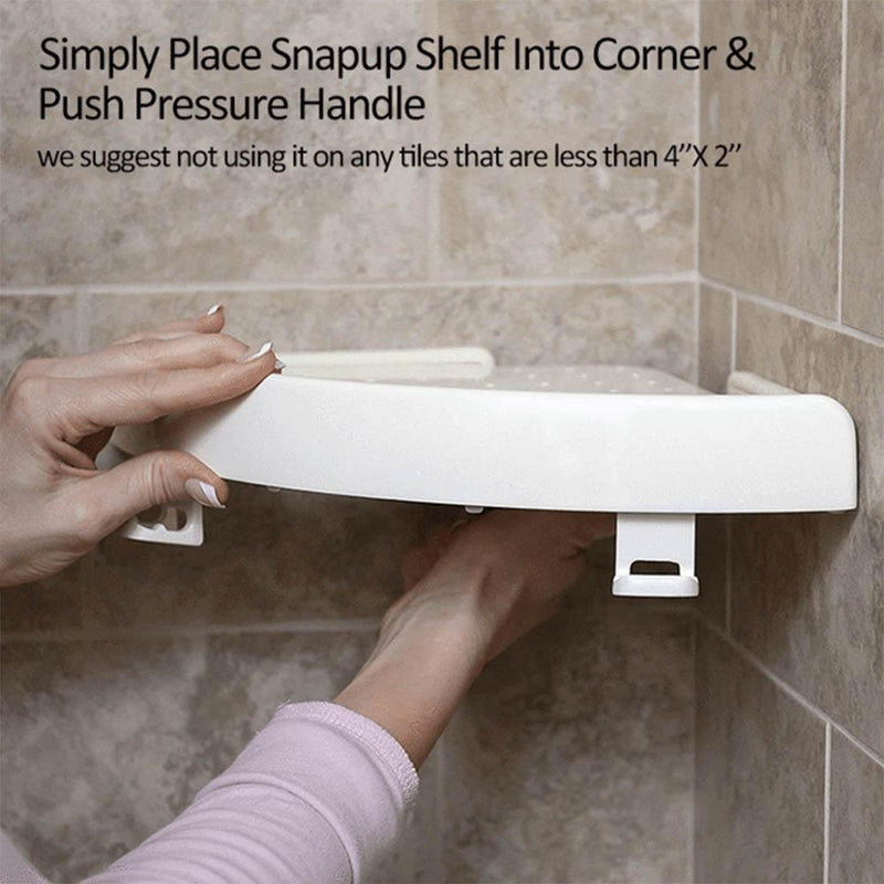 Glowsky™ Multi-functional Corner Shelf No Screws