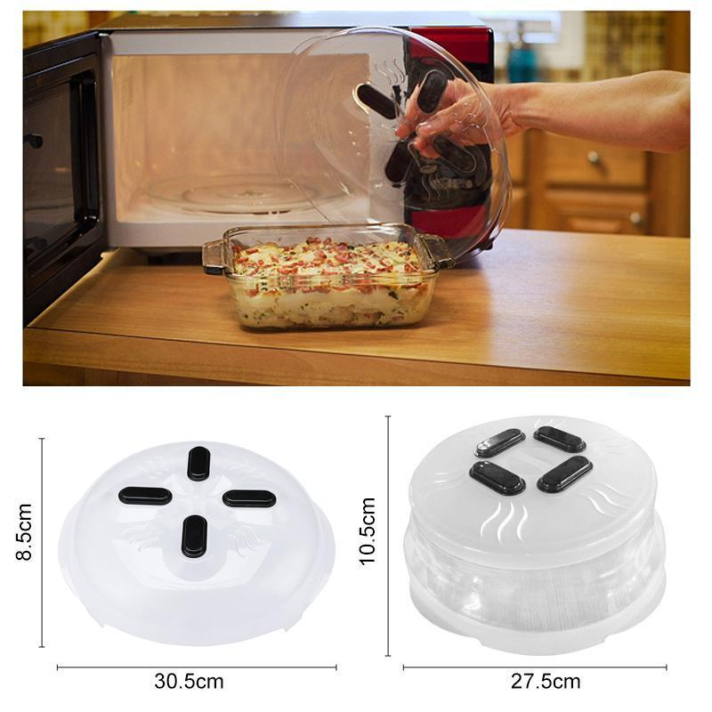 Magnetic Microwave Anti-splatter Cover