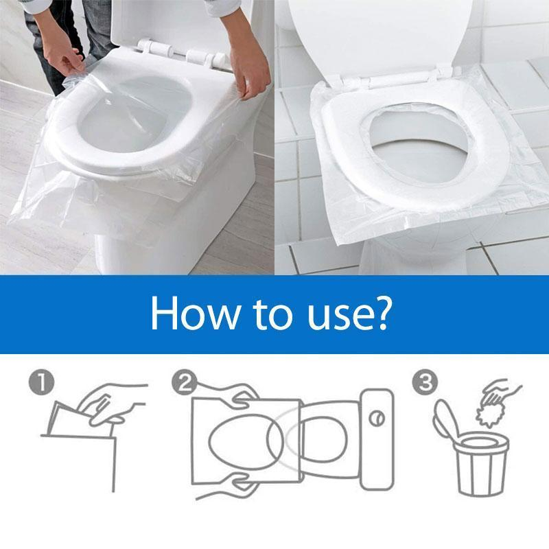 Glowsky™ Disposable toilet pad (50 PCS)