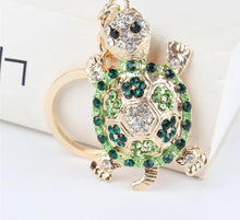 Load image into Gallery viewer, Turtle Rhinestone Pendant