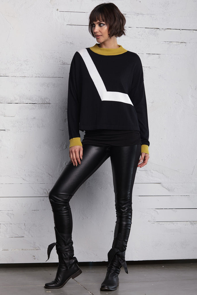 Planet Star Trac Sweater