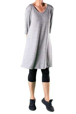 Marilyn Dress Silver Square